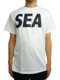 WIND AND SEA T-SHIRT A WHITE