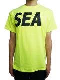 WIND AND SEA T-SHIRT A YELLOW