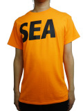 WIND AND SEA T-SHIRT A ORANGE