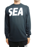 WIND AND SEA LONG SLEEVE CUT-SEWN A BLACK