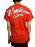 WIND AND SEA T-SHIRT C RED