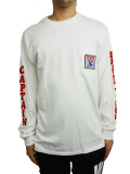 WIND AND SEA LONG SLEEVE CUT-SEWN D WHITE