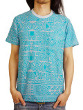 Birvin Uniform JACQUARD T-SHIRT SEA