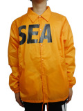 WIND AND SEA COACH JACKET A ORANGE