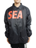 WIND AND SEA COACH JACKET A BLACK