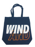 WIND AND SEA TOTE BAG A NAVY