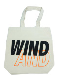 WIND AND SEA TOTE BAG A WHITE