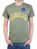 TMT×RUSSELL T-SHIRT (BIGHOLIDAY)  OLIVE