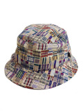 THE QUIET LIFE LIBERTY MADRAS BUCKET BURGUNDY