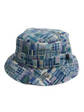 THE QUIET LIFE LIBERTY MADRAS BUCKET BLUE