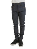 !ITEM DENIM ARC SLIM RAW DEEP INDIGO