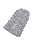 LIFE IS.... WOOL KNIT CAP GREY