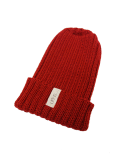 LIFE IS.... WOOL KNIT CAP BURGAN