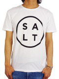 SALT SURF SALT LOGO TEE WHITE