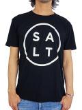 SALT SURF SALT LOGO TEE BLACK