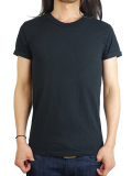 T.S.G from SeaGreen CREW NECK S/S BLACK