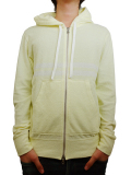 Seagreen pile hoodie yellow