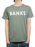 BANKS CLASSIC TEE SHIRT COMBAT