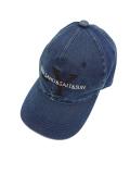 BLUEY DENIM BASEBALL CAP BLUE