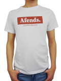 AFENDS Stone tee White