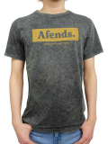 AFENDS Stone tee Black Acid