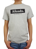 AFENDS Stone tee Grey marle