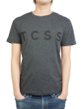 TCSS TRUSTY TEE CHARCOAL MARLE