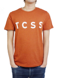 TCSS TRUSTY TEE RED MARLE