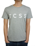 TCSS TRUSTY TEE GREY MARLE