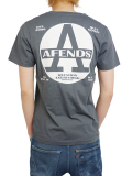 AFENDS Lids tee Faded Black