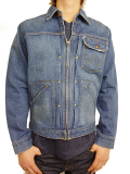 Wrangler ROUGH COWBOY 11MJZ JACKET DARK INDIGO