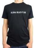 ALOHA BEACH CLUB S/S TEE UNION BLACK