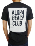 ALOHA BEACH CLUB S/S TEE MOONSHINE BLACK