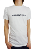 ALOHA BEACH CLUB S/S TEE UNION WHITE