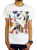"Rolland Berry S/S ART TEE ""ACTRESS"" WHITE"