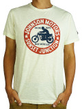 Johnson Motors Inc. S/S TEE JOHNSON JUNCTION DIRTY WHITE