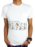 JACKSON MATISSE Mickey Mouse Pocket Tee White