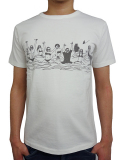 Birvin Uniform VINTAGE TEE (SURF) WHITE