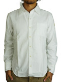 TMT L/SL COLOR OX SHIRT WHITE