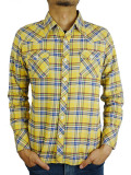 TMT L/SL STANDARD CHECK SHIRT YELLOW