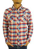 TMT L/SL STANDARD CHECK SHIRT RED