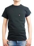 HIDE AND SEEK Sleeve Logo Pocket  S/S TEE BLACK