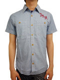 Deus ex Machina SERVICE SS CHAMBRAY SHIRT
