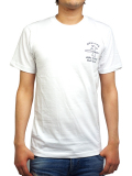 HIDE AND SEEK × OAKLAND SURF CLUB  S/S TEE A WHITE