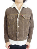 TMT CORDUROY VINTAGE BOA JACKET BROWN