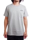 """SURREAL """"ANDY"""" Print Pocket T-Shirt GRAY"""
