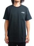 """SURREAL """"ANDY"""" Print Pocket T-Shirt BLACK"""