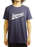 "SURREAL ""WARREN"" Print T-Shirt NAVY"