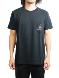 "SURREAL ""BENJAMIN"" Print Pocket T-Shirt BLACK"