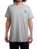 "SURREAL ""BUTCH"" Print Vneck T-Shirt GRAY"